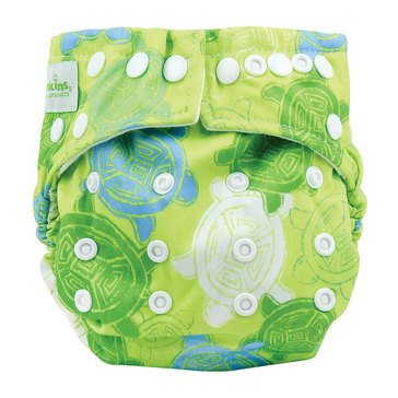 Bumkins Snap-In-One Cloth Diaper, Turtles
