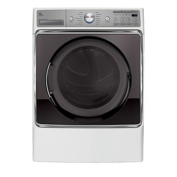 Kenmore Elite 9.0-Cu.Ft. Electric Dryer, White (26-81072)