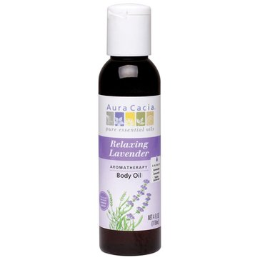 Aura Cacia Relaxing Lavender Body & Massage Oil