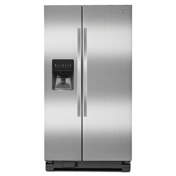 Kenmore 25-Cu.Ft. Side-by-Side Refrigerator, Stainless Steel (46-51123)