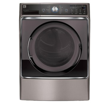 Kenmore Elite 9.0-Cu.Ft. Electric Dryer, Metallic Silver (26-81073)