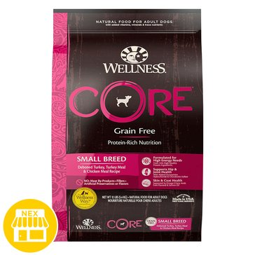 Wellness Core Small Breed Dry Dog Food, 12 lbs.