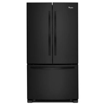 Whirlpool 24.8-Cu.Ft. French Door Refrigerator, Black (WRF535SMBB)