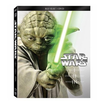 Star Wars Trilogy Episode I-III BD/DVD