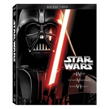 Star Wars Trilogy Episode IV-VI BD/DVD