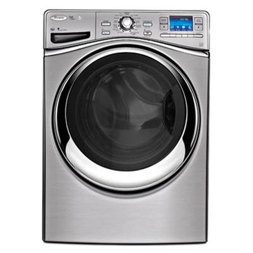Whirlpool 4.3-Cu.Ft. Front Load Washer w/ 6th Sense Live Technology, Diamond Steel (WFL98HEBU)