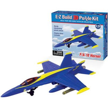 Wow Toyz F/A-18 Hornet Blue Angel 3D Puzzle