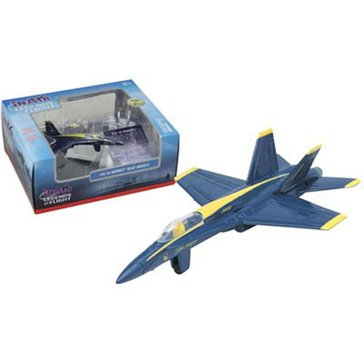 Wow Toyz Legends of Flight F/A-18 Hornet Blue Angel Diecast Plane