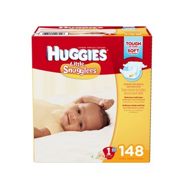 Huggies Little Snugglers - Size 1, Giant Pack 148-Count