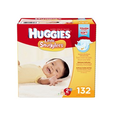 Huggies Little Snugglers - Size 2, Giant Pack 132-Count