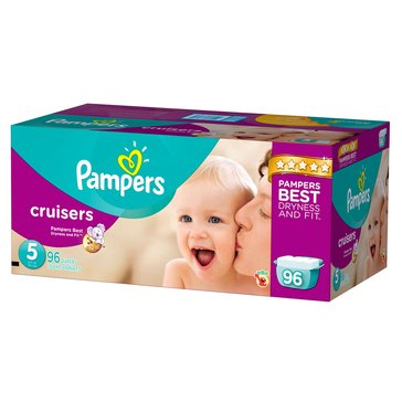 Pampers Cruisers - Size 5, Giant Pack 96-Count