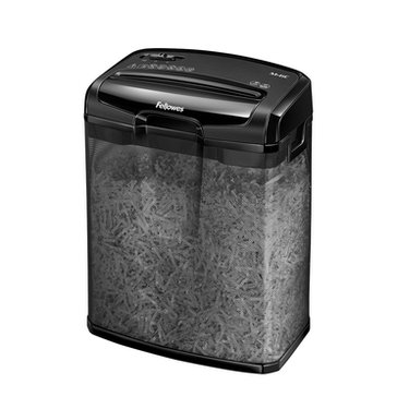 Fellowes Powershred M-6C Cross-Cut Shredder, 6 Sheets