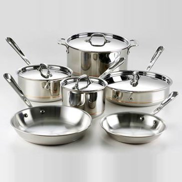 All-Clad Copper Core 10-Piece Cookware Set