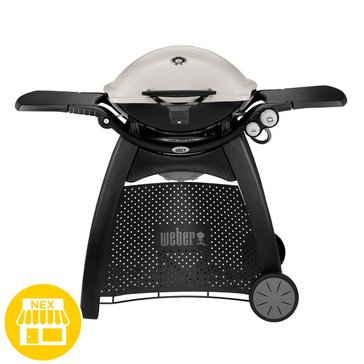 Weber Q3200 Gas Grill With Rolling Cart