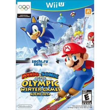 Wii U Mario and Sonic at the Sochi 2014 Olympic