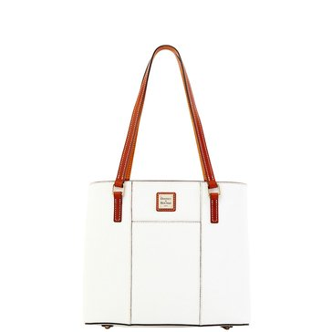 Dooney & Bourke Pebble Small Lexington Tote White