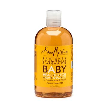 SheaMoisture Raw Shea Butter Baby Head-to-Toe Wash & Shampoo 13oz
