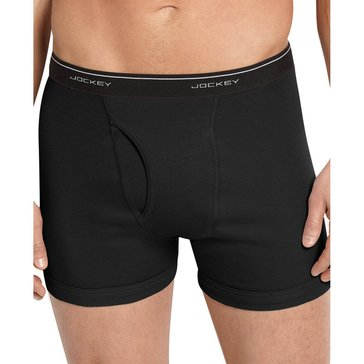Jockey Boxer Briefs 4-Pack - Black