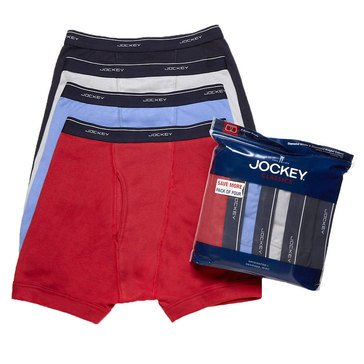 Jockey Boxer Briefs 4-Pack - Assorted Colors