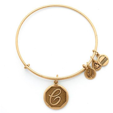 Alex and Ani Initial C Bangle