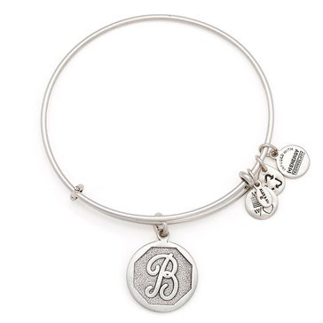 Alex and Ani Initial B Bangle