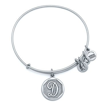 Alex and Ani Initial D Expandable Bangle, Silver Finish