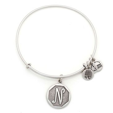 Alex and Ani Initial N Bangle