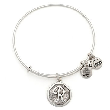 Alex and Ani Initial R Bangle