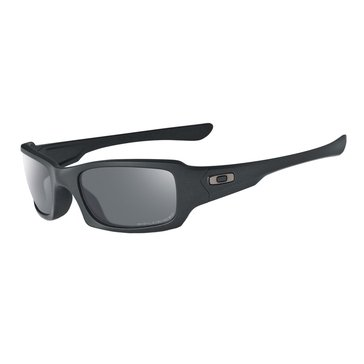 Oakley Standard Issue Men's Fives Polarized Sunglasses, Matte Black