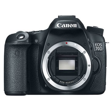 Canon EOS 70D 20.2MP Digital SLR with Digic 5+ Image Processor (Body Only)