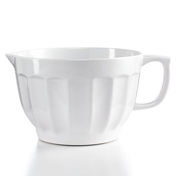 Martha Stewart Collection Melamine Batter Bowl, White