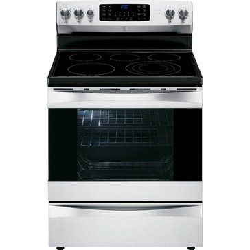 Kenmore Elite 6.1-Cu.Ft. Electric Range w/ Dual True Convection, Stainless Steel (22-95053)