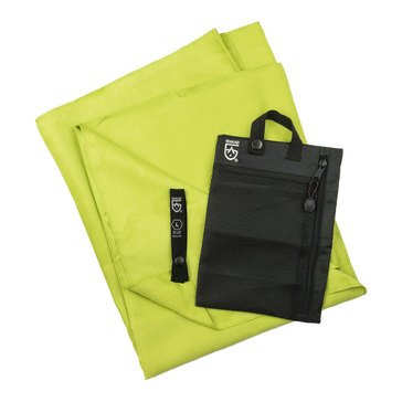 McNett Outgo Microfiber Towl, L- Bright Green