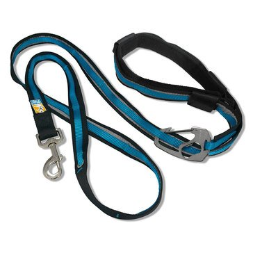 Kurgo Reflect & Protect Quantum Leash Coastal Blue