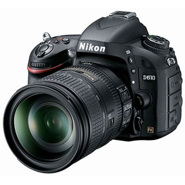 Nikon D610 24.3 MP DSLR Camera with 28-300mm Lens