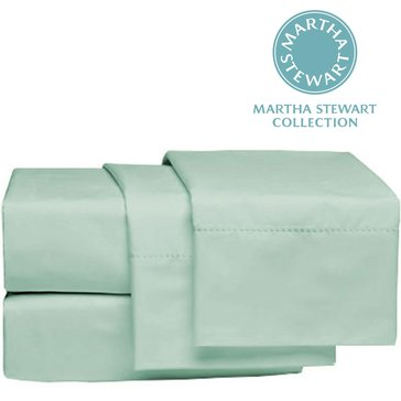 Martha Stewart Collection 300 Thread-Count Pillowcase, Mint - King