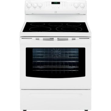 Kenmore 5.7-Cu.Ft. Electric Range w/ True Convection, White (22-94202)