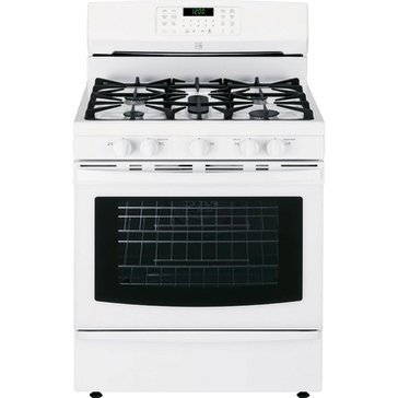 Kenmore 5.6-Cu.Ft. Gas Range w/ True Convection Oven, White (22-74332)
