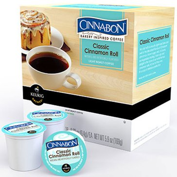 Cinnabon Classic Cinnamon Roll Coffee K-Cup Pods, 18-Count