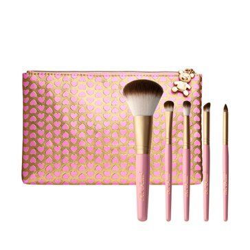 Too Faced Pro-Essential Teddy Bear Makeup Brush Set