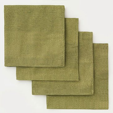 Gold Collection Twill Napkins, Set of 4, Sage