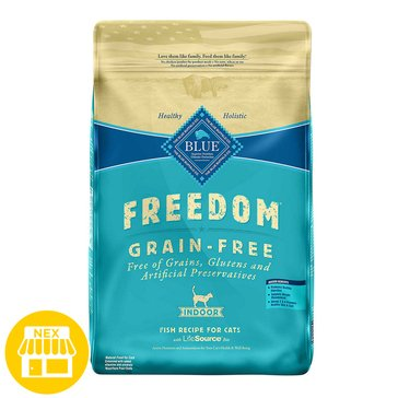 Blue Buffalo Freedom Indoor Dry Cat Food Fish, 11 lbs.