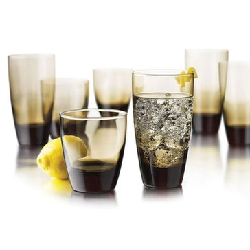 Libbey Mocha 16-Piece Beverage Set