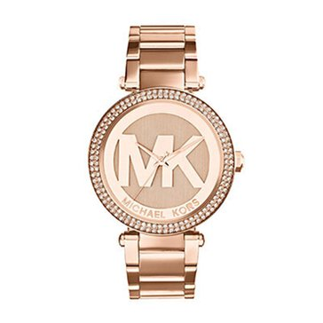 Michael Kors Women's Parker Rose Gold Tone Watch 33mm