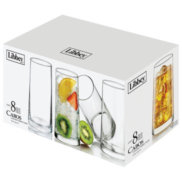 Libbey Cabos Coolers, Set of 8