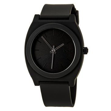 Nixon Unisex Time Teller P Watch A119-524, Matte Black 40mm
