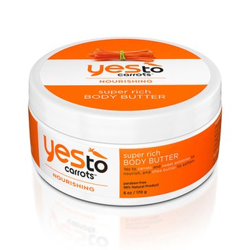 Yes To Carrots Super Rich Body Butter 6oz