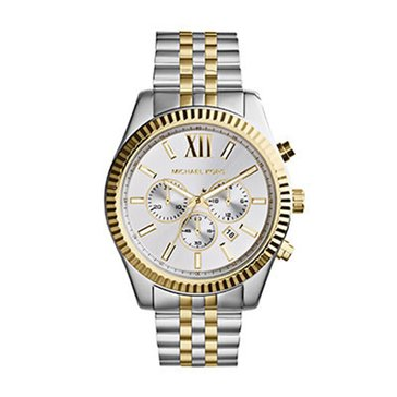 Michael Kors Men's Oversized Lexington Gold Bracelet Watch