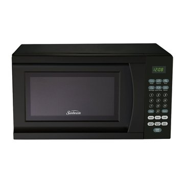 Sunbeam .7-Cu.Ft. 700 Watt Microwave Oven, Black (SGS90701B)