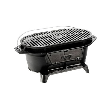 Lodge Cast Iron Sportsman's Charcoal Grill